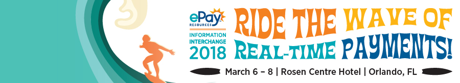 information interchange 2018 ride the wave of real time payments surf themed image